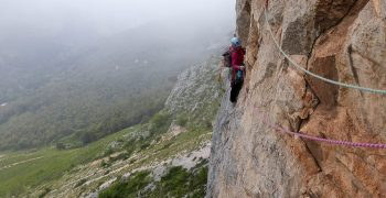 Curso escalada clásica y vías largas