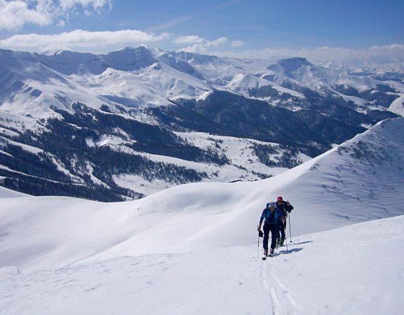 curso esquí de montaña