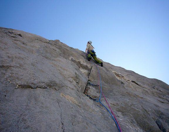 Trad climbing in Picos de Europa