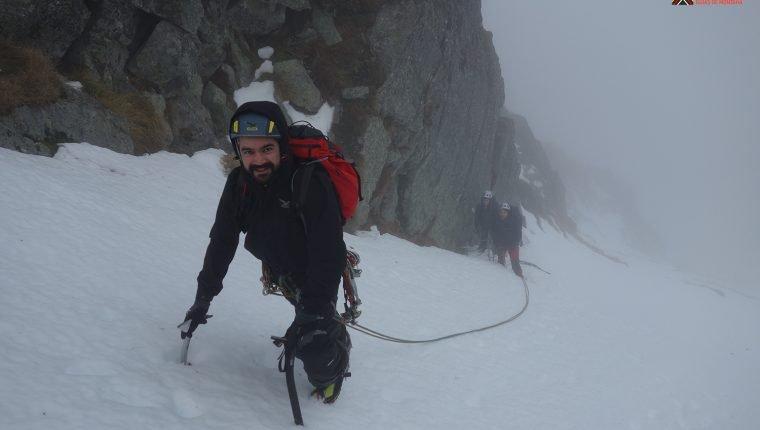 Iniciación a corredores de nieve