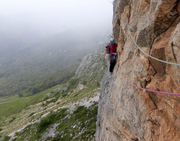 Course in trad & multi-pitch climbing