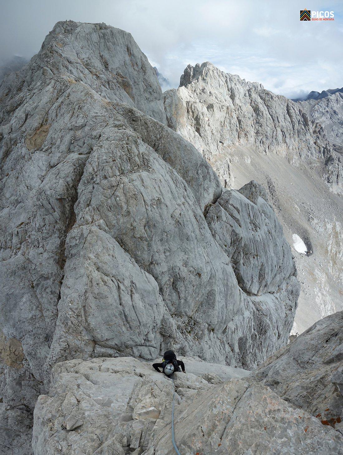 Torre Blanca-Llambrión. Ambiente alpino